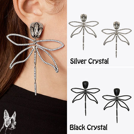 ☆ TORY BURCH ☆ EMBELLISHED ARTICULATED DRAGONFLY EARRING