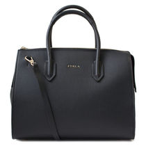 FURLA トートバッグ 2WAY PIN M SATCHEL 924675 BMJ9 ONYX