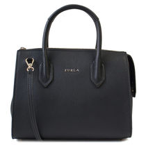 FURLA トートバッグ 2WAY PIN S SATCHEL 924712 BMN1 ONYX