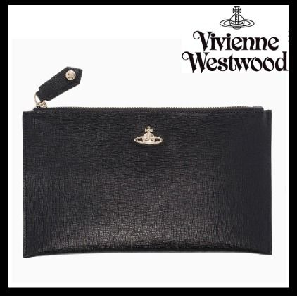 Vivienne Westwood★Saffianoレザーポーチバック【送関込】