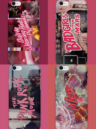 Geeky iPhone・スマホケース Geeky★design Noiseケース iphone galaxy全対応 全4種