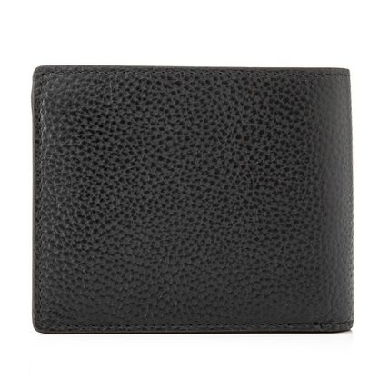 Mulberry 折りたたみ財布 Mulberry 18SS Grain Leather 小銭入れ付き 折り財布_BLACK(2)
