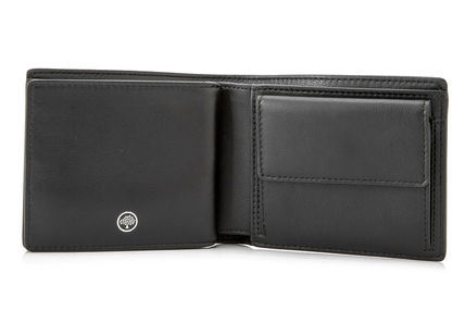 Mulberry 折りたたみ財布 Mulberry 18SS Grain Leather 小銭入れ付き 折り財布_BLACK(4)