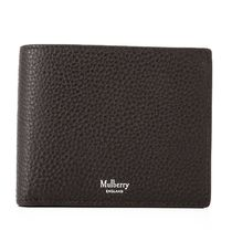Mulberry 18SS Grain Leather 小銭入れ付き 折り財布_Chocolate