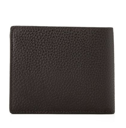 Mulberry 折りたたみ財布 Mulberry 18SS Grain Leather 小銭入れ付き 折り財布_Chocolate(2)