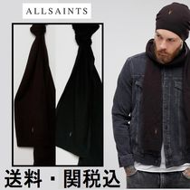 AllSaints FenビーニーAndスカーフ ギフトセットLambswool Blend