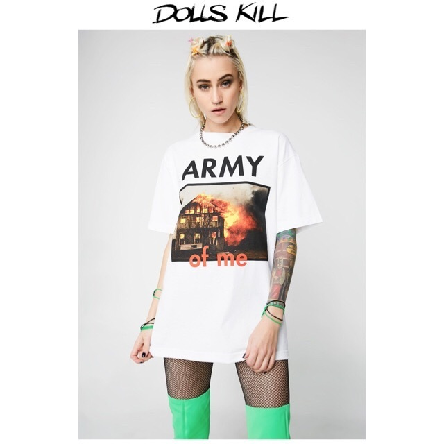 送料/関税込 †DOLLS KILL† ARMY OF ME-Tee