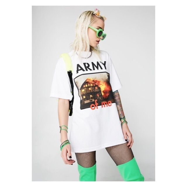 関税/送料込 *DOLLS KILL*  ARMY OF ME TEE