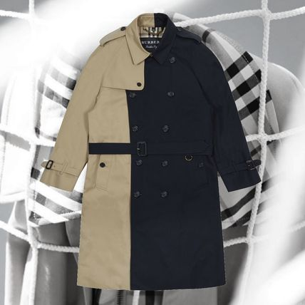 **GoshaRubchinskiyXBurberry**capsule Two Tone Trench Coat