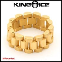 King Ice .14K Gold Rolex Link リング【関税送料込】