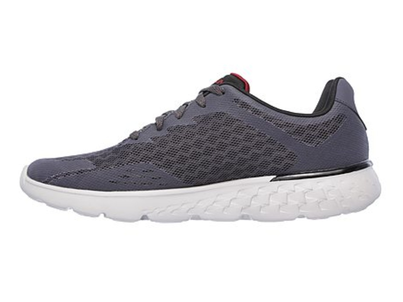 Skechers GOrun400 - Disperse GrayRed Men's スケッチャーズ