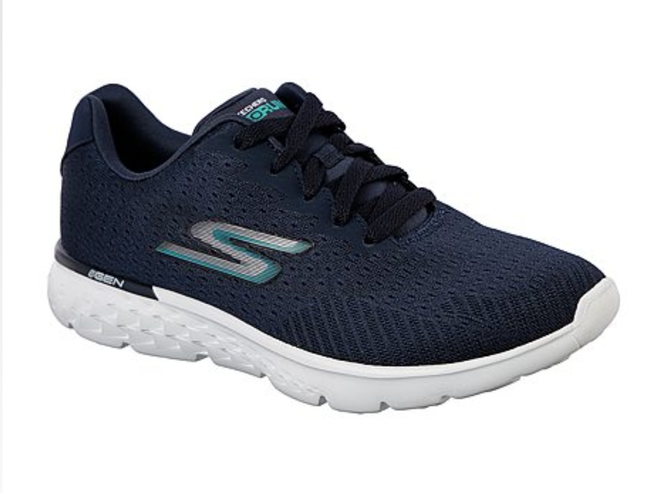 Skechers GOrun 400 - Sole NavyWhite Women's スケッチャーズ