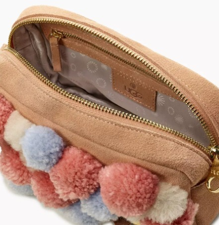 ボンボン付き♡★UGG★JANEY POM POM CROSSBODY PURSE★2色