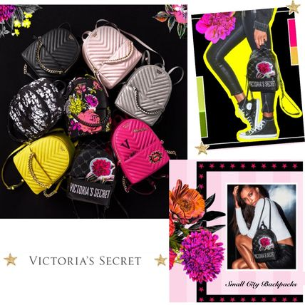 Victoria's Secret バックパック・リュック 2018 NEW! 最新作★ Super COOL Pebbled V-Quilt Small Backpack(4)