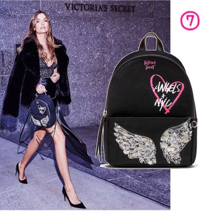 Victoria's Secret バックパック・リュック 2018 NEW! 最新作★ Super COOL Pebbled V-Quilt Small Backpack(13)
