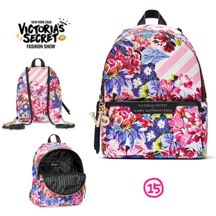 Victoria's Secret バックパック・リュック 2018 NEW! 最新作★ Super COOL Pebbled V-Quilt Small Backpack(20)