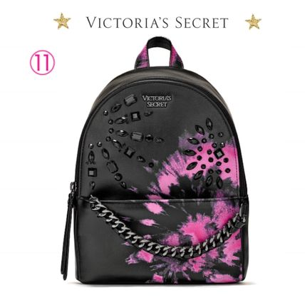 Victoria's Secret バックパック・リュック 2018 NEW! 最新作★ Super COOL Pebbled V-Quilt Small Backpack(17)
