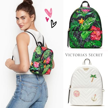 Victoria's Secret バックパック・リュック 2018 NEW! 最新作★ Super COOL Pebbled V-Quilt Small Backpack(6)
