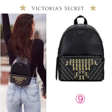 Victoria's Secret バックパック・リュック 2018 NEW! 最新作★ Super COOL Pebbled V-Quilt Small Backpack(15)