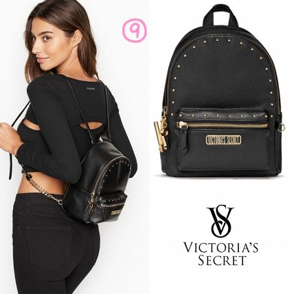 Victoria's Secret バックパック・リュック 2018 NEW! 最新作★ Super COOL Pebbled V-Quilt Small Backpack(12)