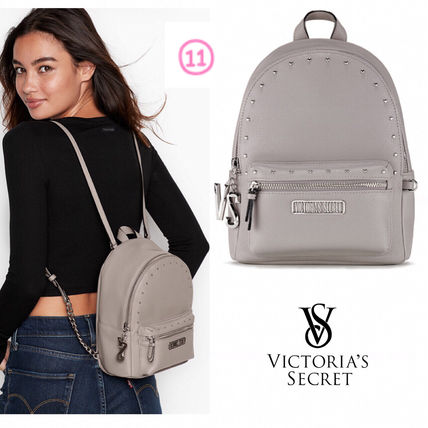 Victoria's Secret バックパック・リュック 2018 NEW! 最新作★ Super COOL Pebbled V-Quilt Small Backpack(14)