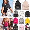 2018 NEW! 最新作★ Super COOL Pebbled V-Quilt Small Backpack