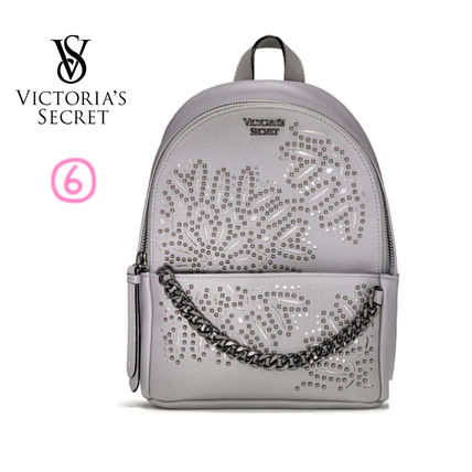 Victoria's Secret バックパック・リュック 2018 NEW! 最新作★ Super COOL Pebbled V-Quilt Small Backpack(9)