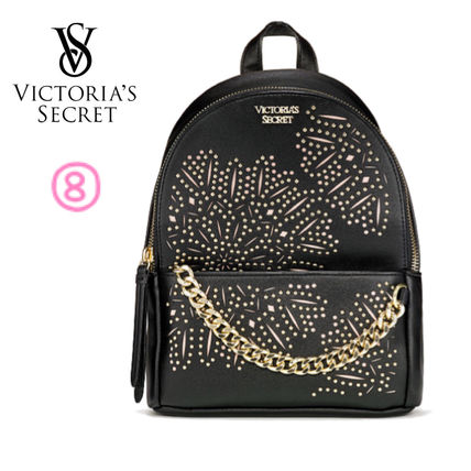 Victoria's Secret バックパック・リュック 2018 NEW! 最新作★ Super COOL Pebbled V-Quilt Small Backpack(11)