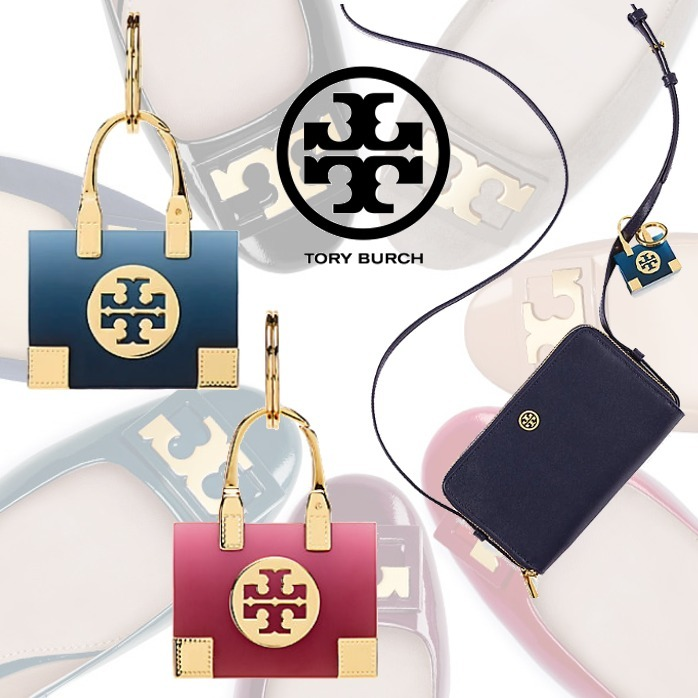 新作SALE★Tory Burch ELLA TOTE KEY FOB バッグチャーム