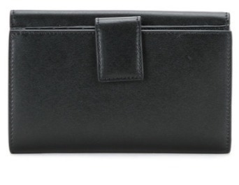 【関税負担】 FENDI SLIM CONTINENTAL WALLET BLACK