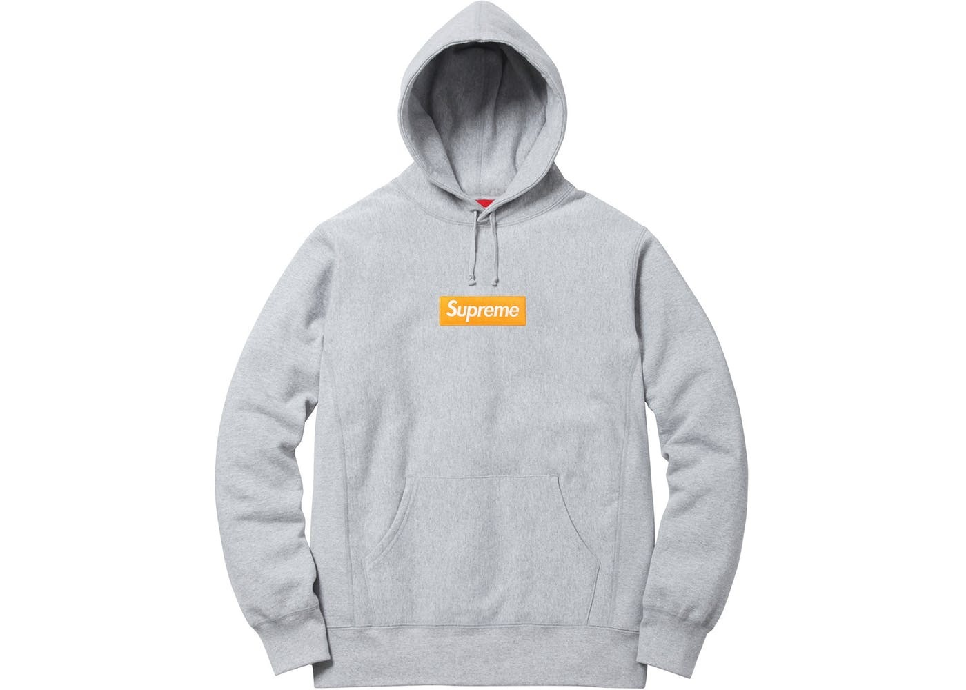 国内正規品 17AW Supreme Box Logo Hooded Sweatshirt Grey S