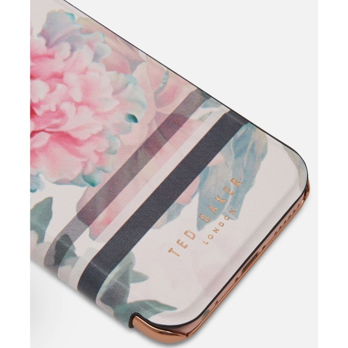 Ted Baker フラワーデザインiPhone 6/6s/7 ダイアリーケース