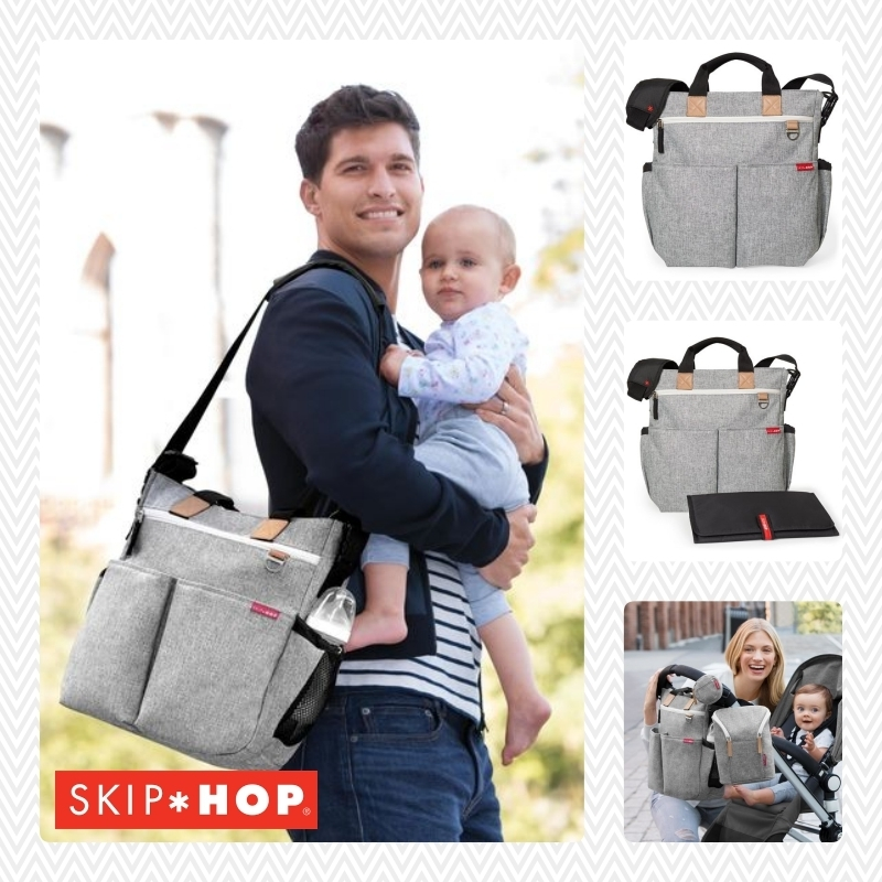 【日本未上陸】SKIP*HOP  Duo Signature Diaper Bag 大容量