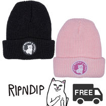 RIPNDIPリップンディップ STOP BEING A PUSSY RIBBED BEANIE
