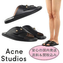 【送料関税込】Acne Studios★Jillay Leather Slides★国内発送