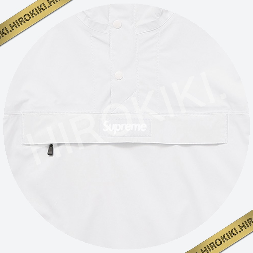 【17SS】Lサイズ★Supreme Taped Seam Anorak アノラック White