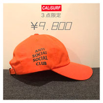 3つ限定★ANTI SOCIAL SOCIAL CLUB Logo cap orange