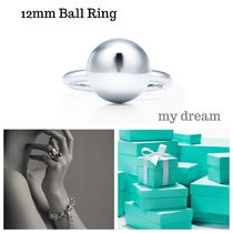 【Tiffany & Co】 Hardwear Ball Ring in Silver (12mm)
