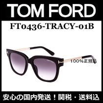 人気モデル!【TOM FORD】FT0436 TRACY 01B・Shiny Black/関送込