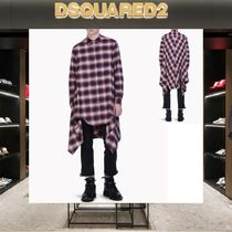 【18SS NEW】D SQUARED2_men/Check Cotton Blanket シャツRD