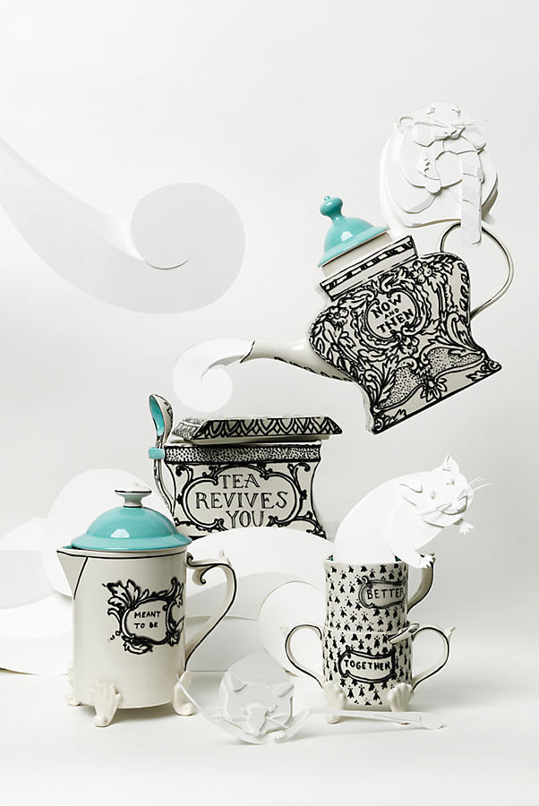 最終SALE☆ラス1即納【Anthro】Sketched Story French Press