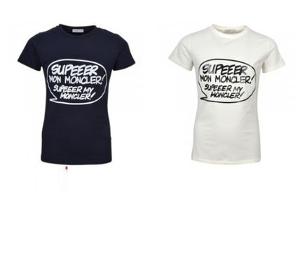 MONCLER Tシャツ・カットソー 安心の国内発送 MONCLER ☆SUPER MONCLER Tシャツ 腕ロゴ付