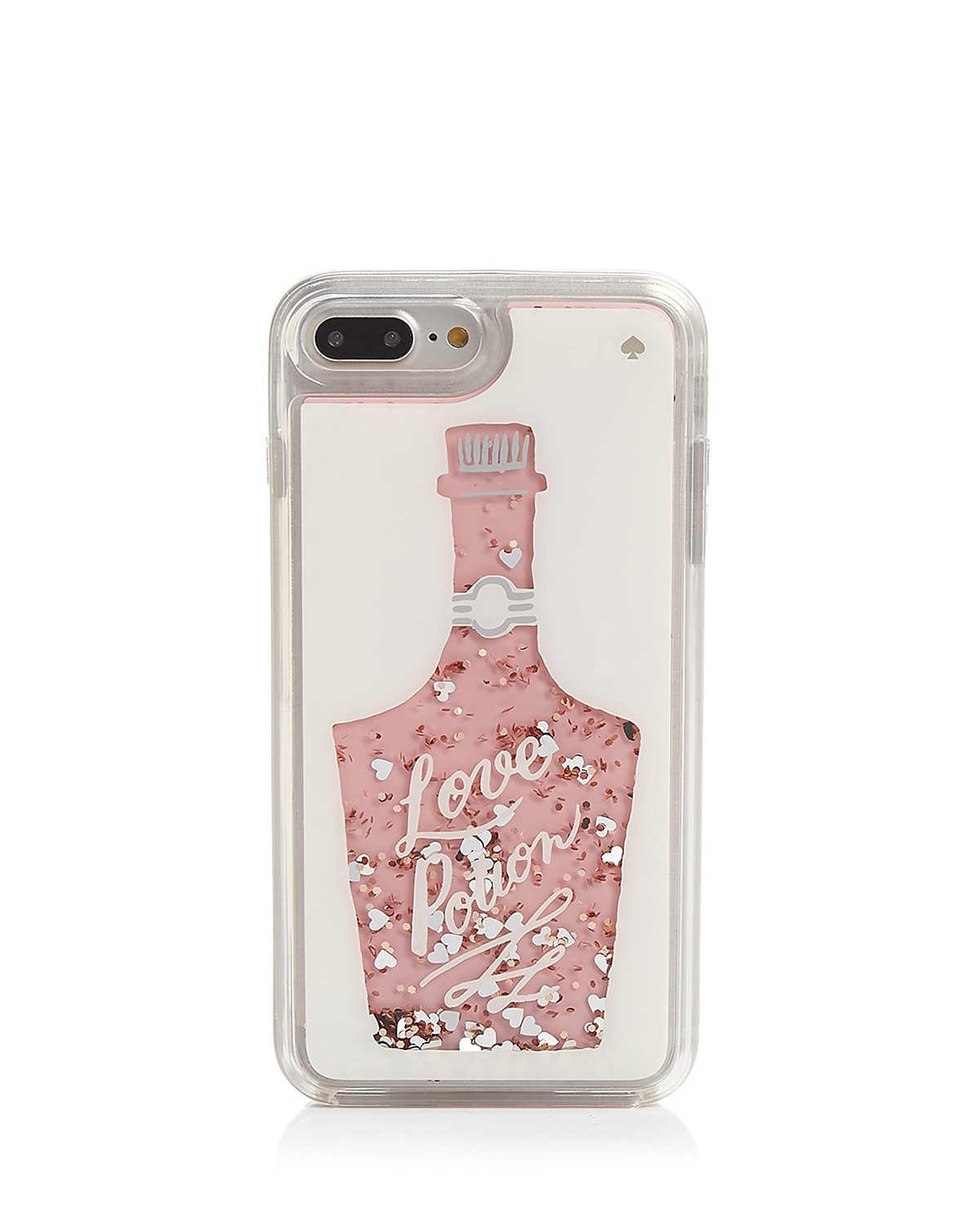 kate spade Glitter Love Potion iPhone 7 and 8 Plus Case