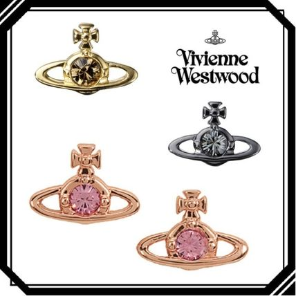 Vivienne Westwood イヤリング・ピアス すぐ届くvieviennwestwood NANO SOLITAIREスタッズピアス 国内発