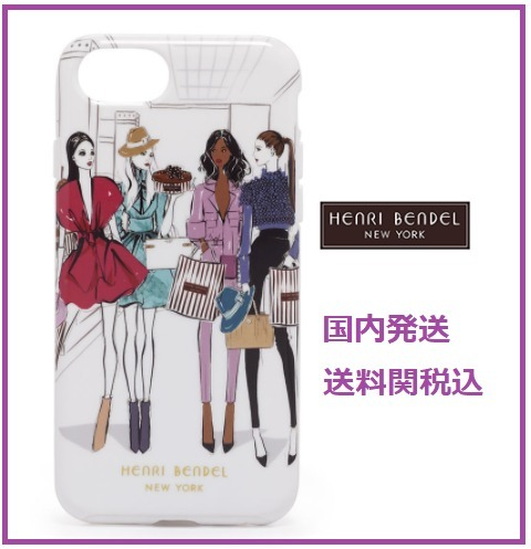 Henri Bendel ヘンリベンデル RUNWAY GIRLS GRAPHIC IPHONE6/7/8