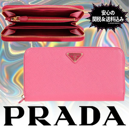 PRADA 長財布 【安心の関税込】PRADA・Zip around wallet / 1ML506QHHF0505