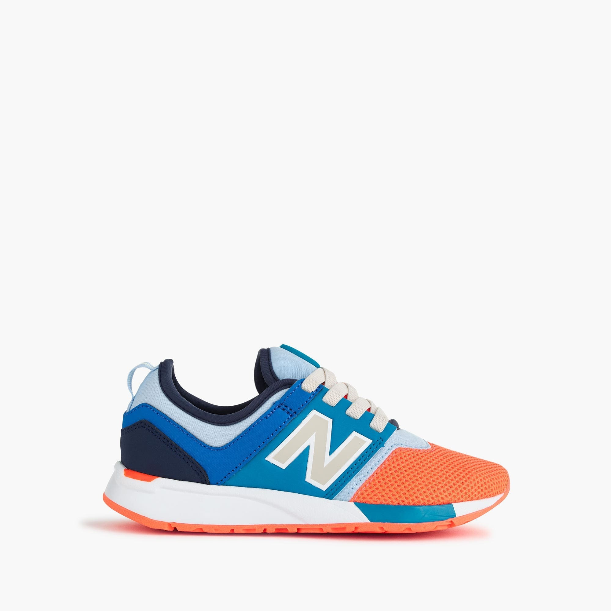 New Balance for crewcuts 24/7 sneakers with no-tie laces
