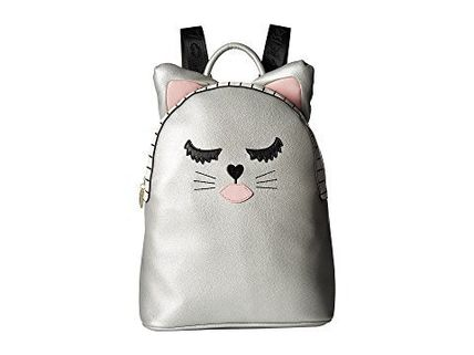 Luv Betsey by Betsey Johnson★PVC Kitch ねこ★バックパック