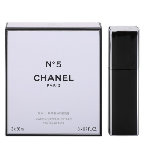 【準速達・追跡】CHANEL No.5 Eau Premiere EDP Women 3×20ml