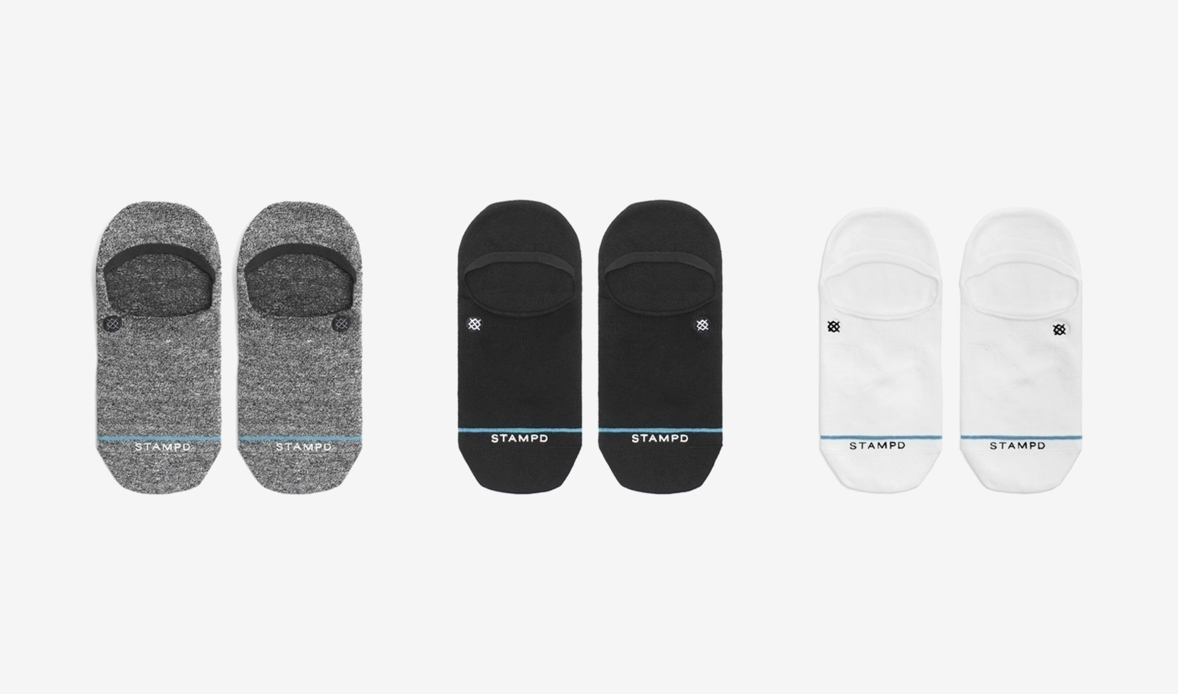 Stampd x Stance 3pcソックス  Invisible Sock Essential Pack